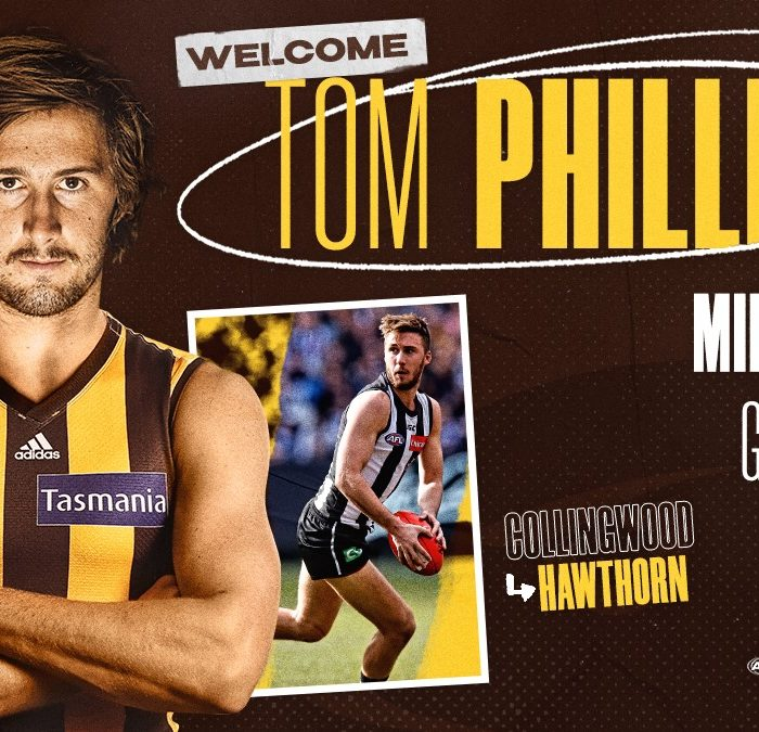 Tom Phillips becomes a Hawk in last-minute swoop